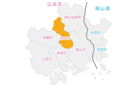 府中市イラストマップ