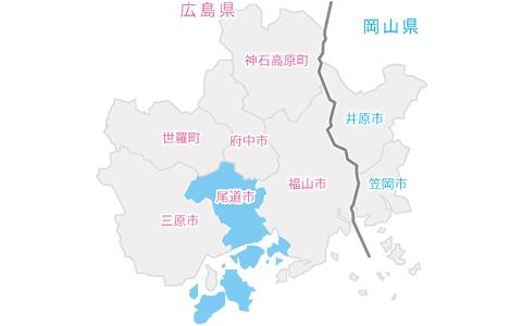 尾道市イラストマップ